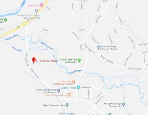 Google Map of Eagle Valley Family Practice location