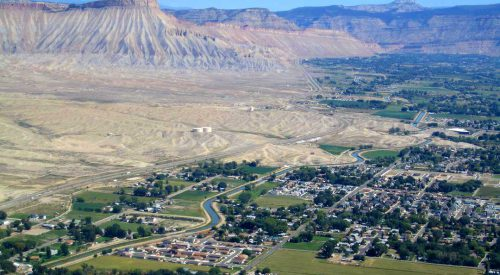 View of Grand Junction, CO