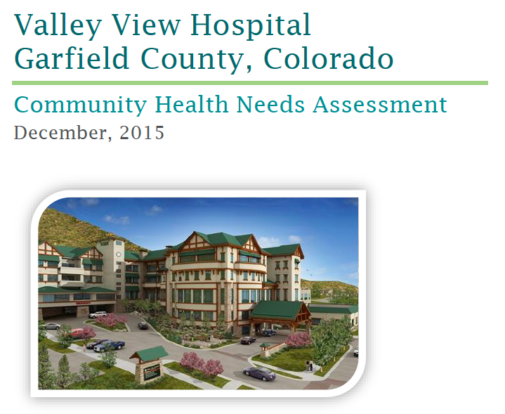 Valley View Hospital Community Health Needs Assessment