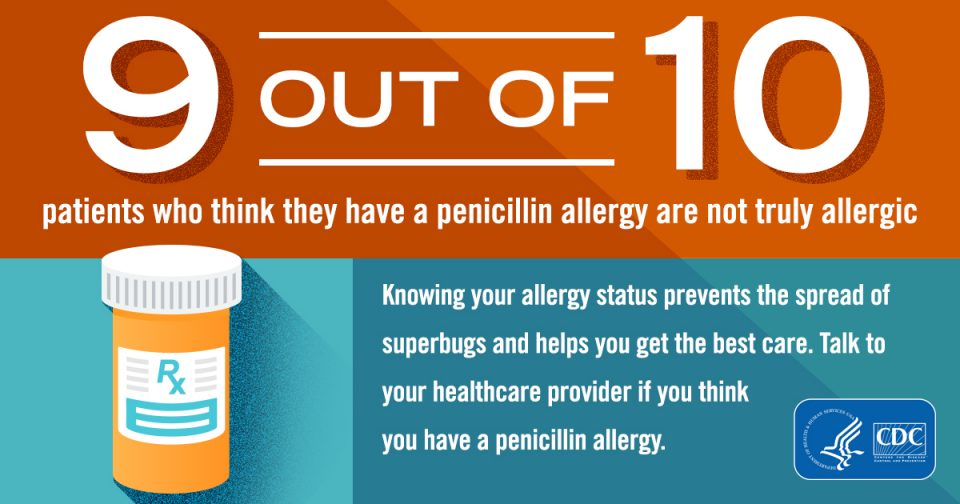 allergy to penicillin