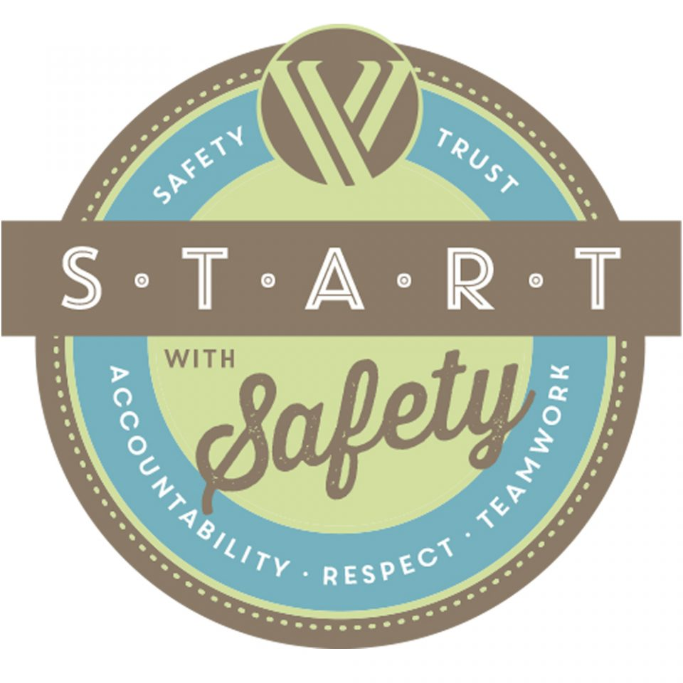 Start with Safety badge