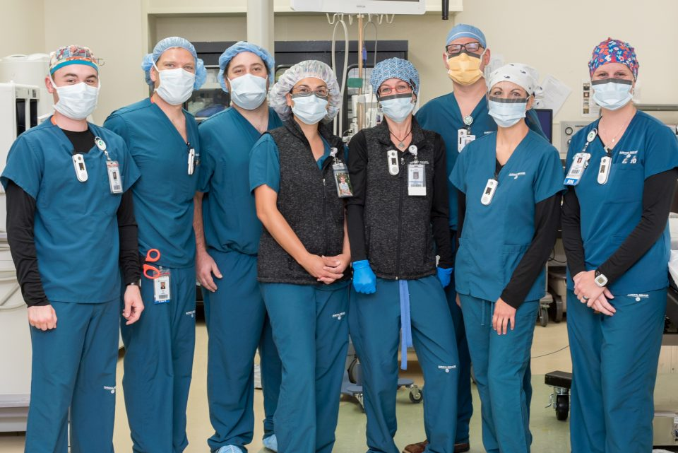 Valley View's Surgical Services Nurses