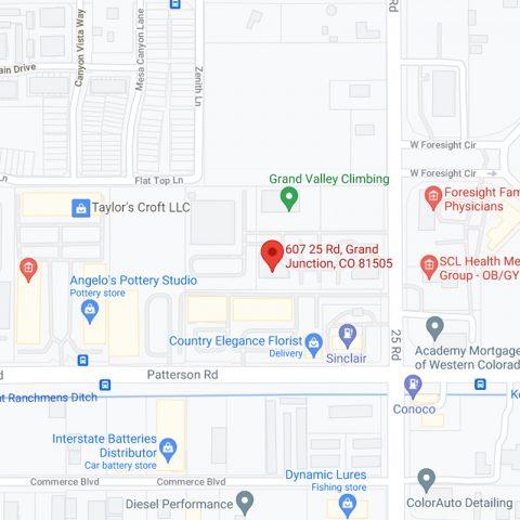 Map of Hart & Vascular Center location in Glenwood