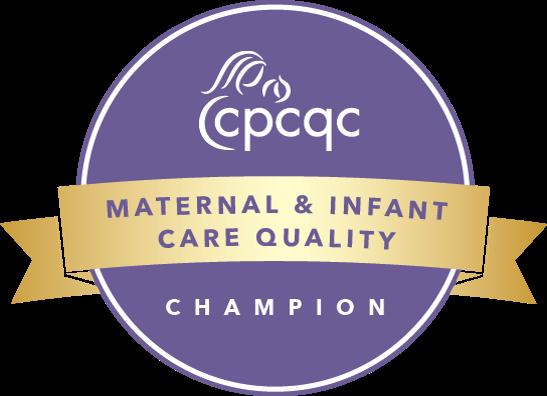 Maternal & Infant Care Quality badge